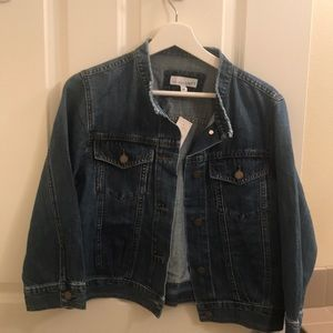 NWT Demin Blue short jacket